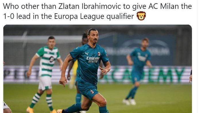 Hasil Lengkap Liga Europa, AC Milan Bungkam Shamrock Rovers 2-0, Spurs Menang Tipis 2-1