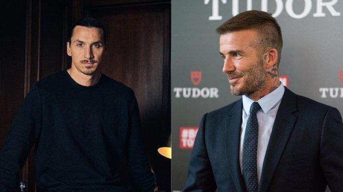 Ibrahimovic Bakal Dukung dan Kenakan Jersey Timnas Inggris Setelah Kalah Taruhan dari Beckham