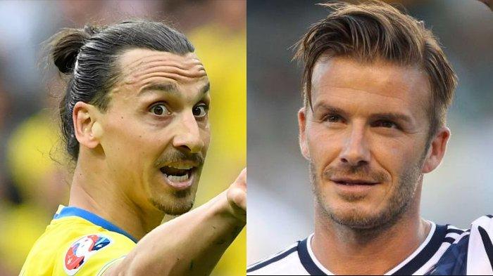 Kalah Taruhan dengan David Beckham Zlatan Ibrahimovic Siap Lakukan Hal Ini!