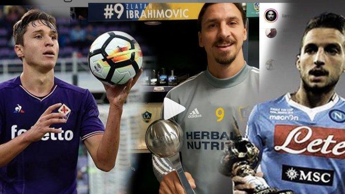 Rumor Jendela Trasfer, Zlatan Ibrahimovic ke AC Milan, Chiesa ke Juventus, Duo Belgia ke Inter