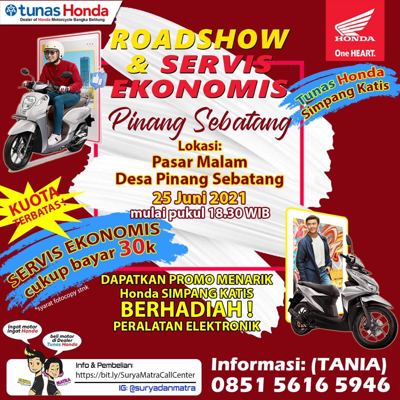 Roadshow dan Servis Ekonomis Pinang Sebatang (22/06).