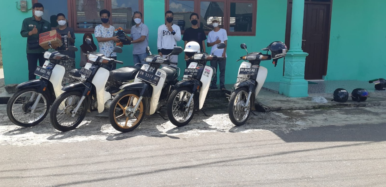 Aniversary 1th Honda Astrea Riders Club Bangka (HARC) gelar CSR ke Panti Asuhan Nur-Rahmah Pangkalpinang (03/08)