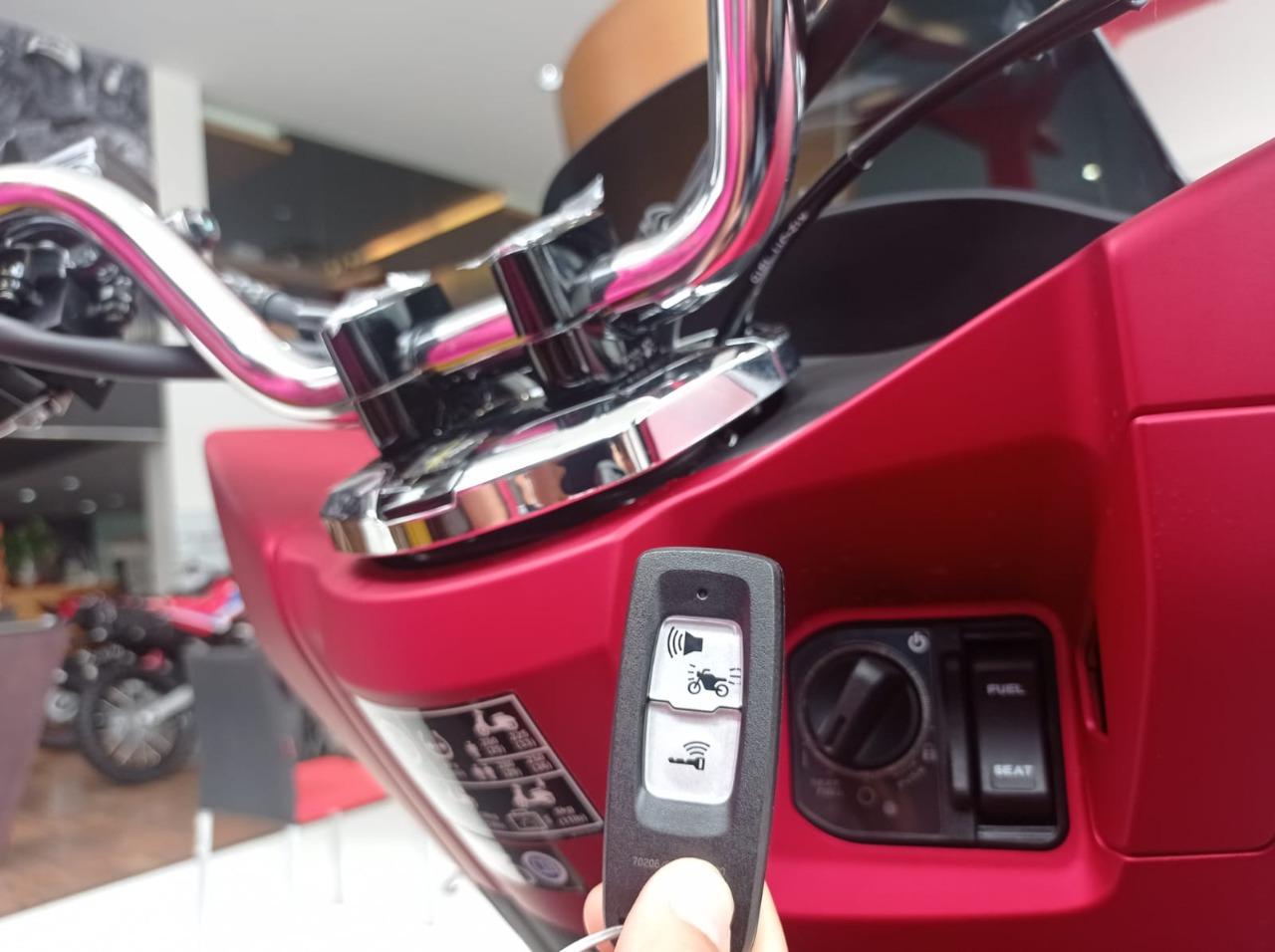 Sepeda Motor Honda sudah banyak menggunakan Honda Smart Key Sistem