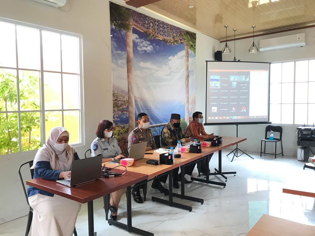BPJS Kesehatan Cabang Pangkalpinang Gandeng PT Jasa Raharja Cabang Kepulauan Bangka Belitung Lakukan Sosialisasi Skema Penjaminan Korban Kecelakaan Lalu Lintas