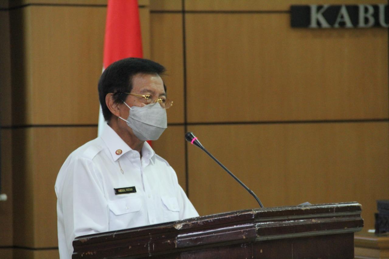 Ketua Palang Merah Indonesia (PMI) Provinsi Kepulauan Bangka Belitung (Babel), Abdul Fatah
