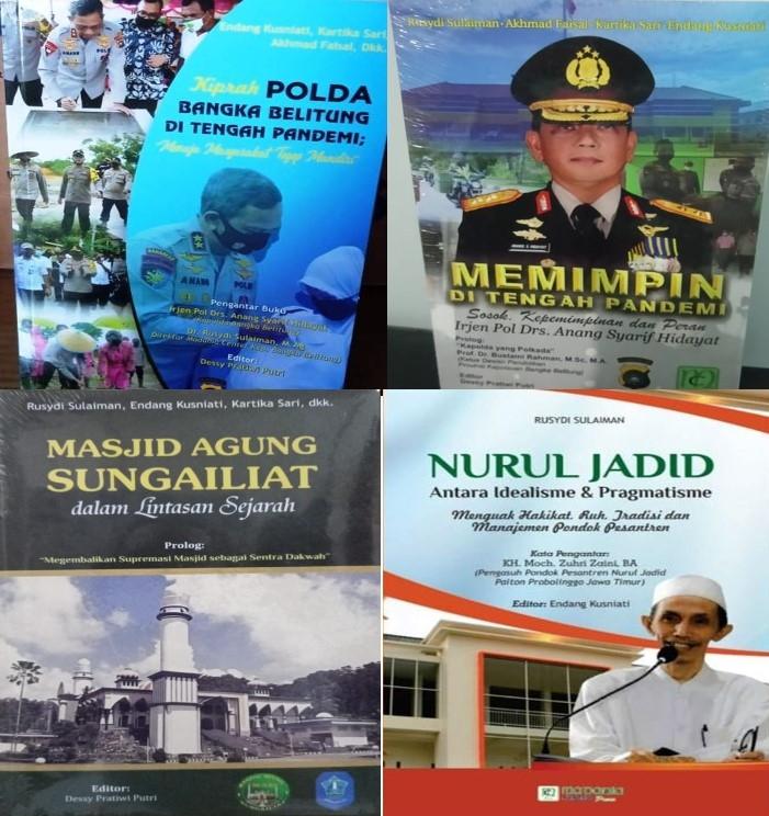 4 (Empat) buku karya ilmiah  pada tahun 2020 Karya Dr. Rusydi Sulaiman, M.Ag, Dkk terbitan Madania Center Press