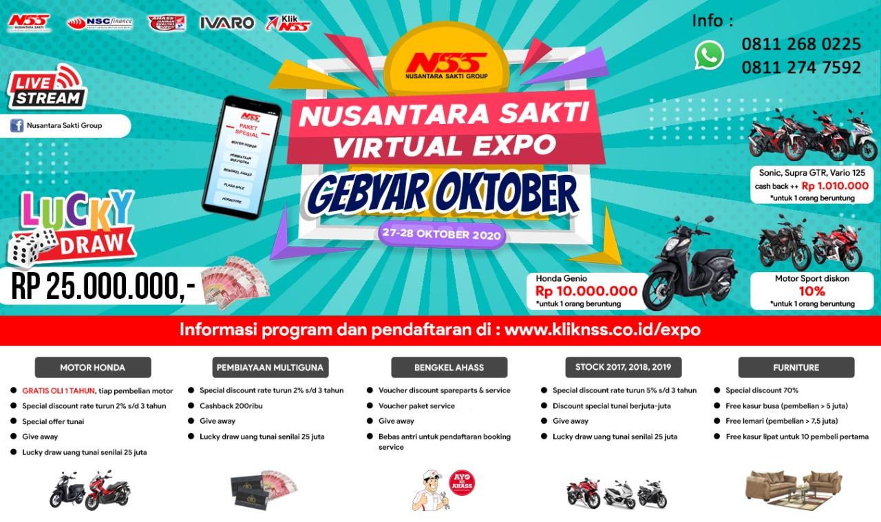 Virtual Expo Gebyar Oktober