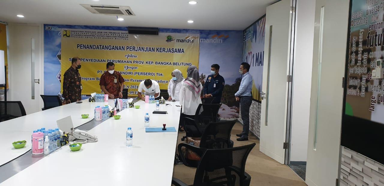 Penandatanganan Perpanjangan Perjanjian Kerja Sama (PKS)