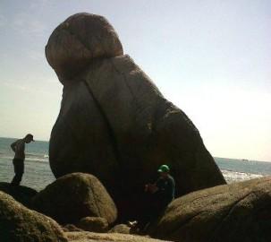 Batu 'Bersimpuh'