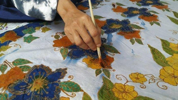 Berwisata Sekalian Belajar Membatik di Batik Kelekak Belitong