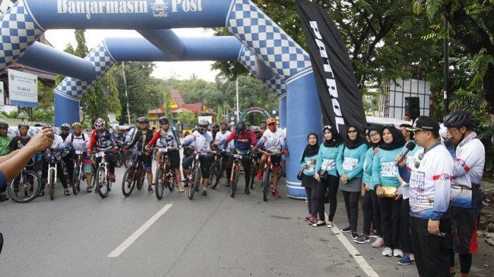 Hercules Raih Hadiah Utama Event Touring Part 2 K100+ Banjarmasin-Barito Kuala