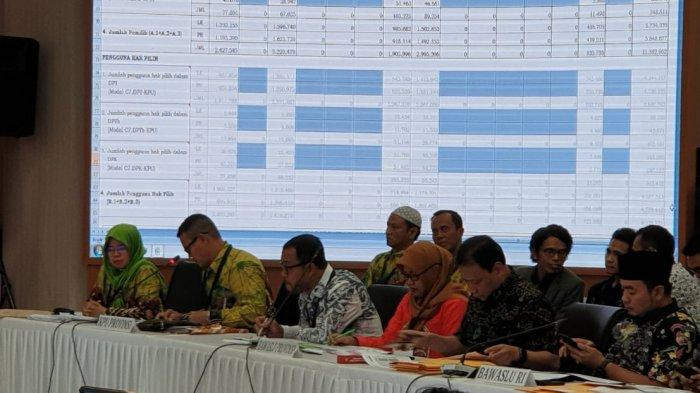 Pembacaan Hasil Rekapitulasi Penghitungan Suara Pemilu 2019 Kalsel di Pusat Berjalan Lancar