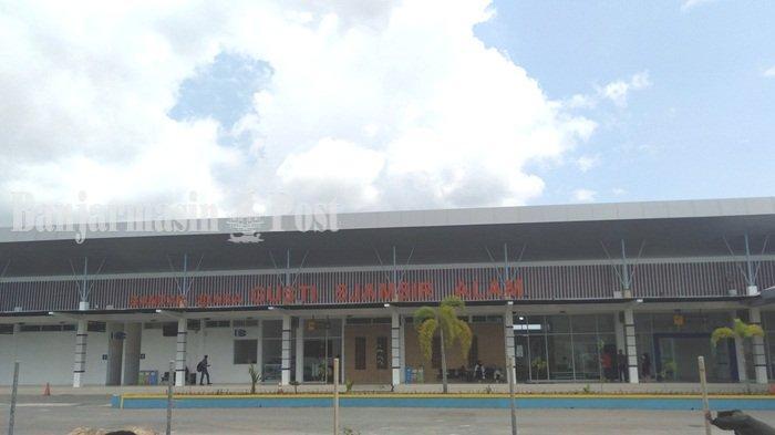Bandar Udara  Bandara Gusti Sjamsir Alam Kotabaru.