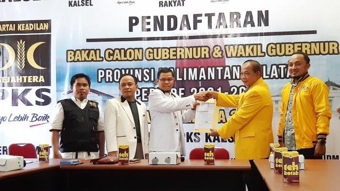 Pilgub Kalsel 2020: Paman Birin Kembalikan Berkas Bakal Calon Gubernur ke DPW PKS Kalsel