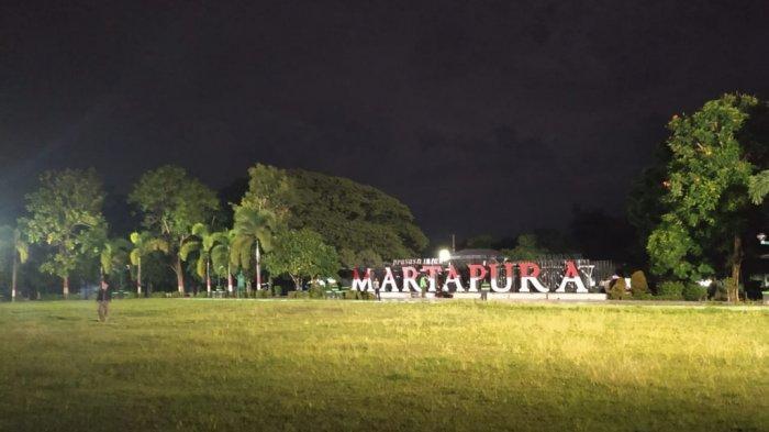 Sunyinya Malam Pergantian Tahun di Kabupaten Banjar, Kota Martapura Bagai Tak Berpenghuni