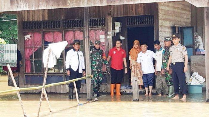 Banjir di Enam Desa Kabupaten Tanahbumbu, 206 Rumah Terendam