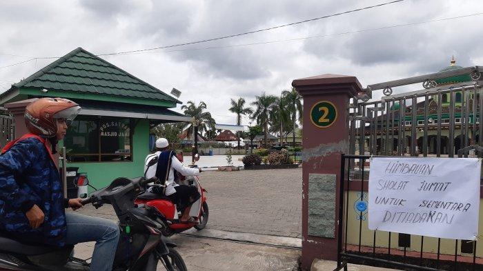 Cegah Penyebaran Covid-19, Beberapa Masjid di Banjarmasin Sementara Tiadakan Salat Jumat Berjemaah