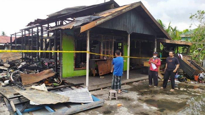 Peristiwa Kebakaran di Basirih Banjarmasin, Joni Diduga Coba Bakar Istrinya Sendiri