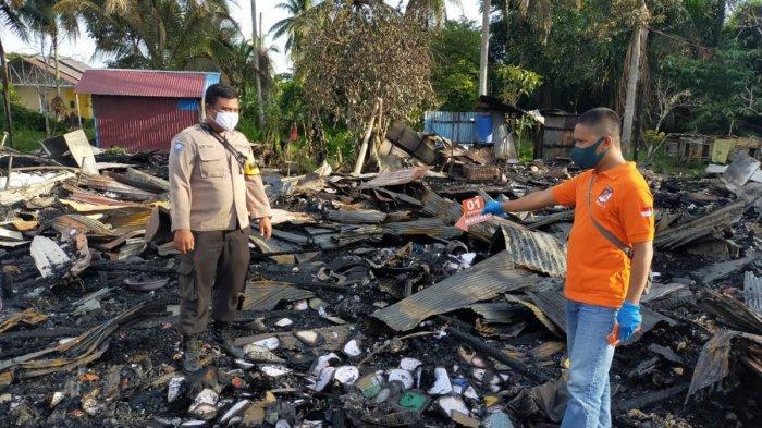 Hanguskan Sembilan Rumah, Kebakaran di Bantuil Batola Capai Kerugian 800 Juta