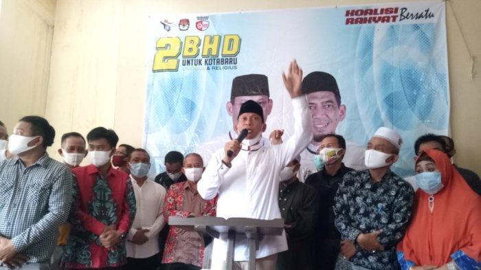 Hasil Pilkada Kotabaru 2020, 2BHD Deklarasikan Kemenangan Sementara