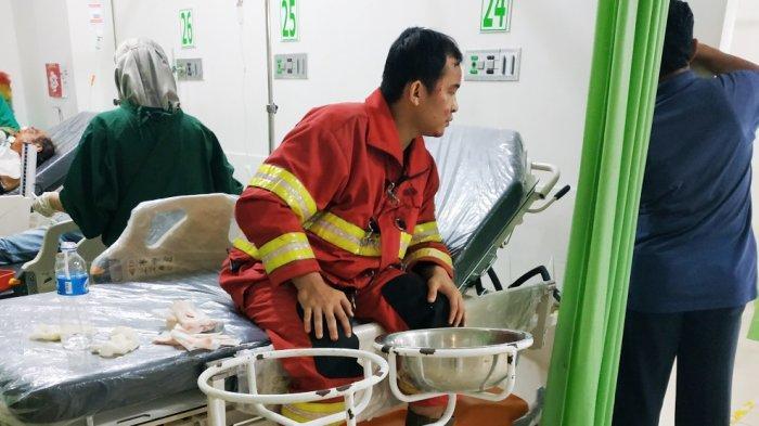 Berniat Ikut Memadamkan Kebakaran, Relawan BPK di Banjarmasin Justru Tabrakan, Begini Kronologisnya