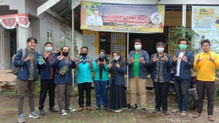 KKN di Desa Beringin Batola, Mahasiswa UMB Diminta Suntikkan Semangat Berkreativitas Warga
