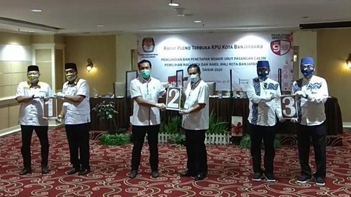 Pleno Penetapan Wali Kota dan Wakil Wali Kota Banjarbaru Terpilih, KPU Ingin Seluruh Paslon Hadir
