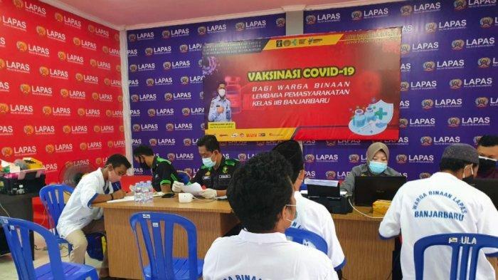 Tak Ada Nomor Induk Kependudukan, 290 WBP Lapas Banjarbaru Tak Bisa Divaksin