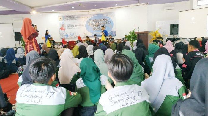 370 Mahasiswa Jurusan BK ULM diajarkan Manfaat Tekhnologi Untuk Tangani Client