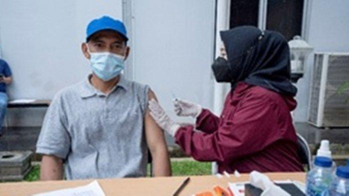 pelaksanaan vaksinasi dilingkungan PLN UIKL Kalimantan