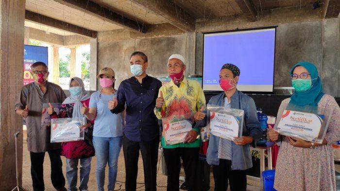 Gandeng Owner de'Papuyu Banjarbaru, Darmawan Jaya Gelar Pelatihan Budidaya Ikan Sistem Bioflok