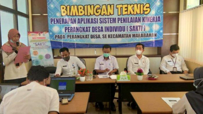 DPMD Batola Dukung Program SAKTI untuk Tingkatkan Kinerja Perangkat Desa