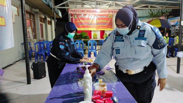 Tujuh Benda Ditemukan dalam Penggeledahan di Blok Hunian Lapas Perempuan Martapura