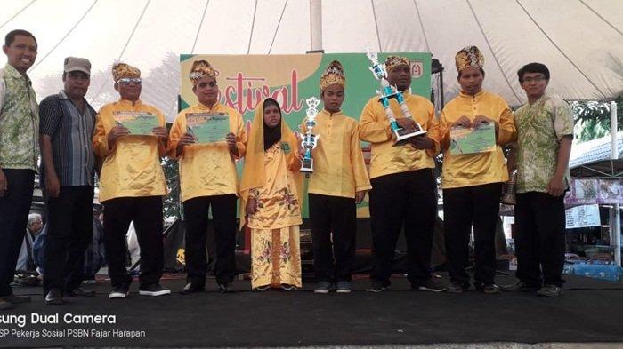 Grup Panting SLB Martapura Ini Juarai Ajang Seni di Kota Banjarbaru