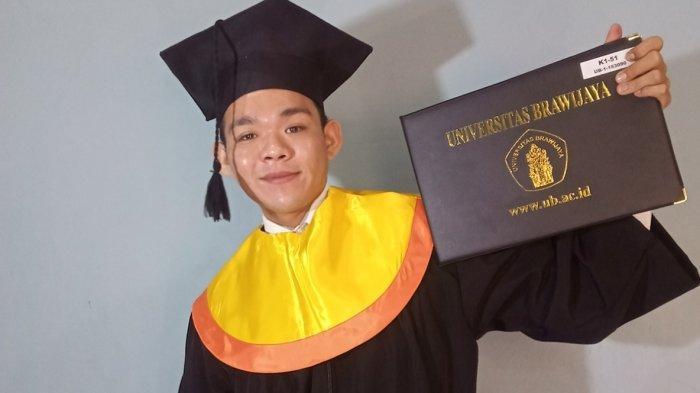 Wakil I Nanang Banjarmasin Resmi Sandang Gelar Sarjana dari Unbraw Malang
