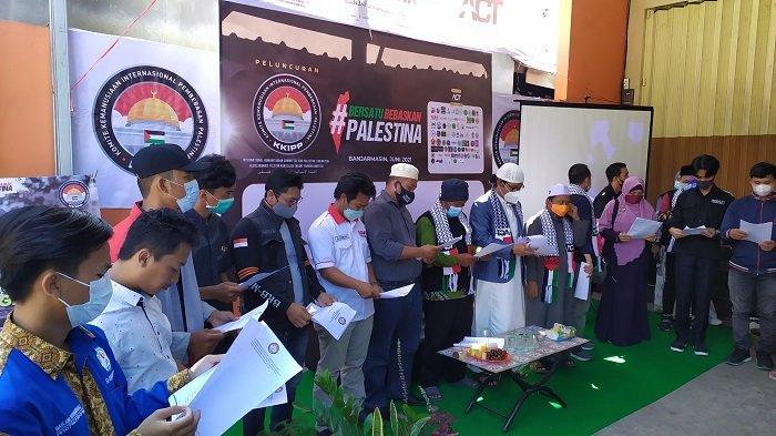 Peduli Palestina, ACT Kalsel Deklarasikan Komite Kemanusiaan Internasional Pembebasan Palestina