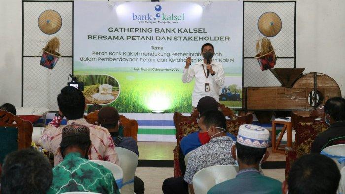Bank Kalsel Gelar Gathering bersama Pemkab Batola dan Petani Binaan