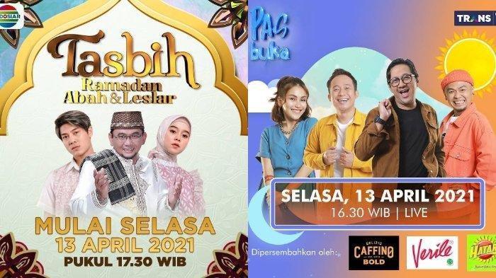 Daftar Acara TV Ramadhan 1442 H Temani Buka Puasa 2021, Lesti Kejora dan Rizky Billar di Indosiar