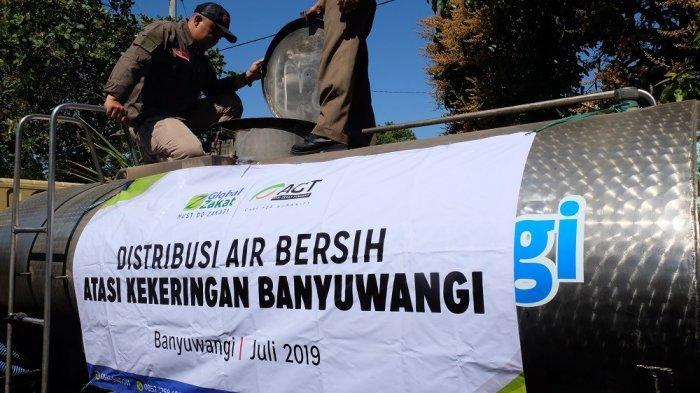 ACT Distribusikan Belasan Ribu Air Bersih ke Warga Banyuwangi yang Alami Krisis Air Bersih