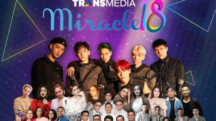 Sekarang! Ada Penampilan EXO Video Live Streaming Online Trans TV & Trans 7 HUT ke-18 Transmedia
