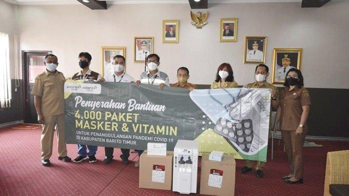 Adaro Group memberi dukungan fasilitas kesehatan, guna upaya percepatan penanganan pasien terpapar Covid-19 di Kabupaten Barito Timur (Bartim), Provinsi Kalimantan Tengah.