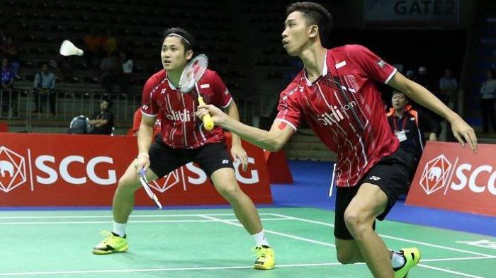 Hasil Denmark Open 2018 : Ganda Putra Indonesia Wahyu/Ade Terhenti di 32 Besar