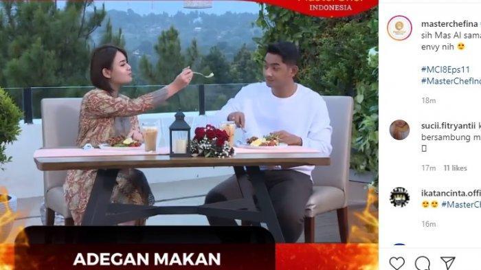 Adegan Mesra Arya Saloka dan Amanda Manopo Terekam di MasterChef Indonesia 8, Chef Juna Tanya Ini
