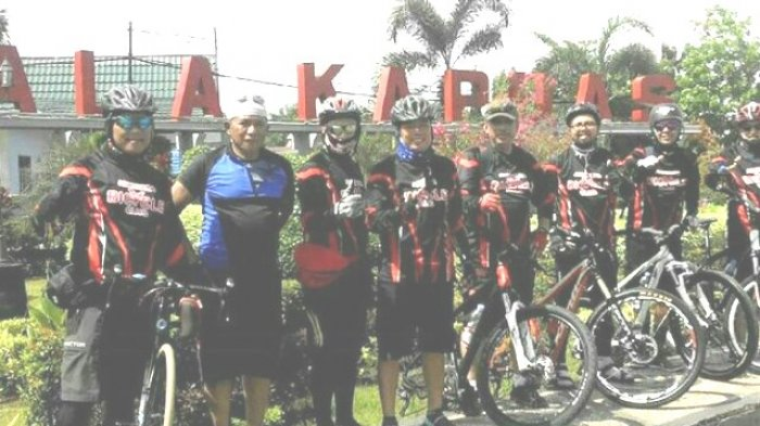 Lama Vakum, Gowes Adhyaksa Bicyle Club Banjarmasin Langsung ke Pangkep Sulsel