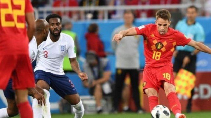 LINK TV Online Live Streaming Inggris vs Belgia UEFA Nations League Malam Ini Nonton di Mola TV