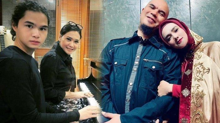 Tangisan Mulan Jameela di Acara Dul dan Tissa Biani, Turut Disaksikan Maia Estianty dan Ahmad Dhani
