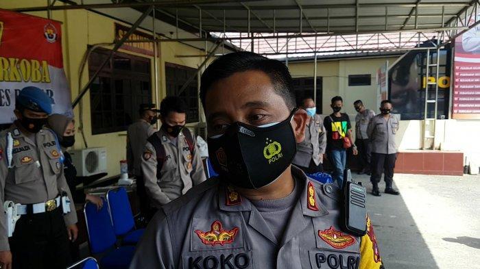 Pilkada Kalsel 2020, Satu TPS PSU di Kabupaten Banjar Dijaga Satu Polisi