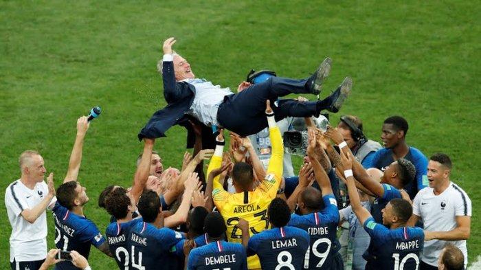 Catat Penguasaan Bola Terburuk, Prancis Juara Piala Dunia 2018