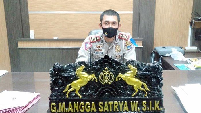 AKP GM Angga Satrya Wibawa SIK, Kasatlantas Polres Tanah Bumbu (Tanbu), Kalimantan Selatan.