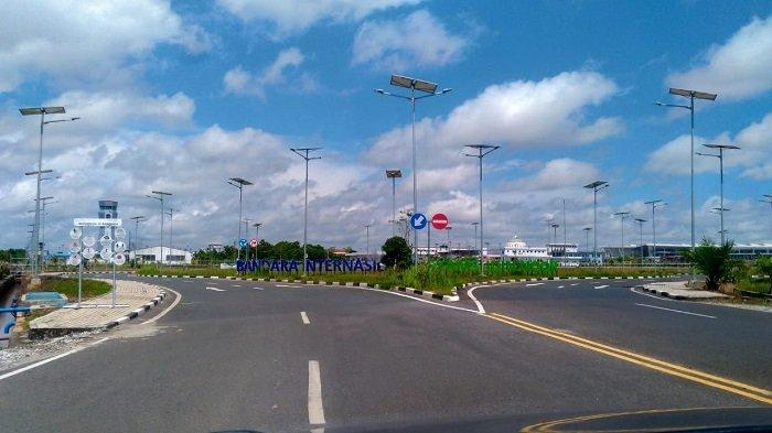 Peniadaan Mudik Lebaran Idulfitri 1442 H, Bandara Syamsudin Noor Banjarmasin Sepi